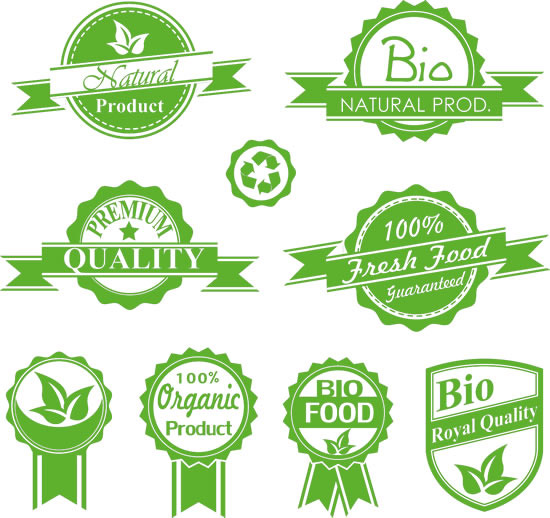 Green product labels