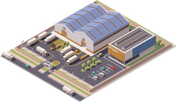 企业工厂厂房