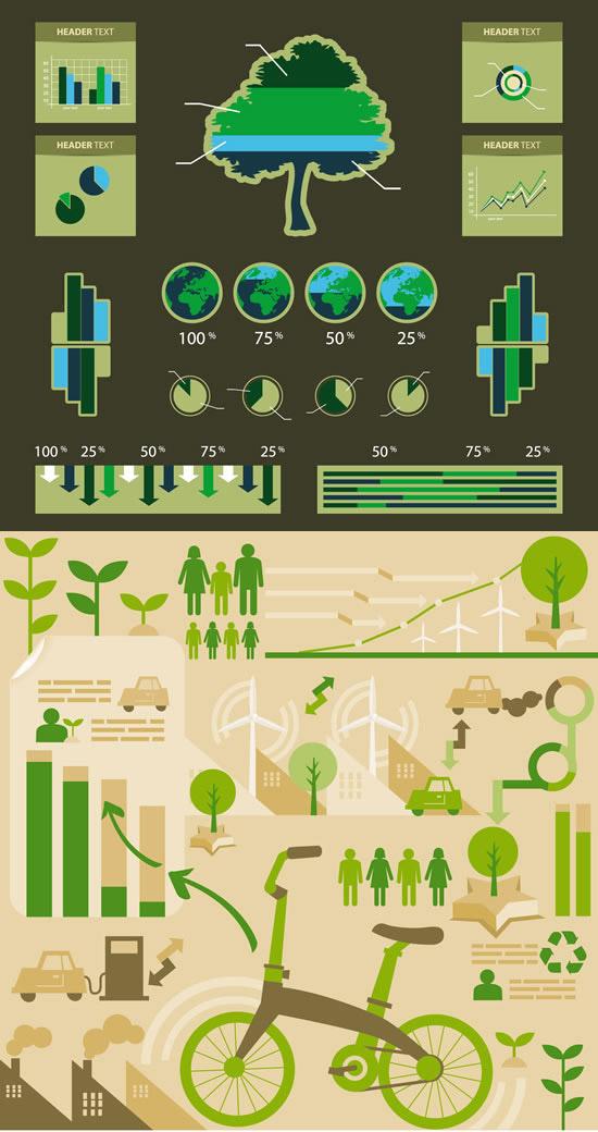 环保统计图标