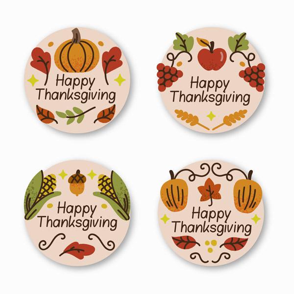感恩节标签