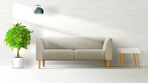 室内沙发效果