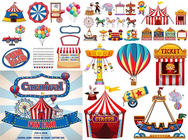 马戏团与游乐场设施