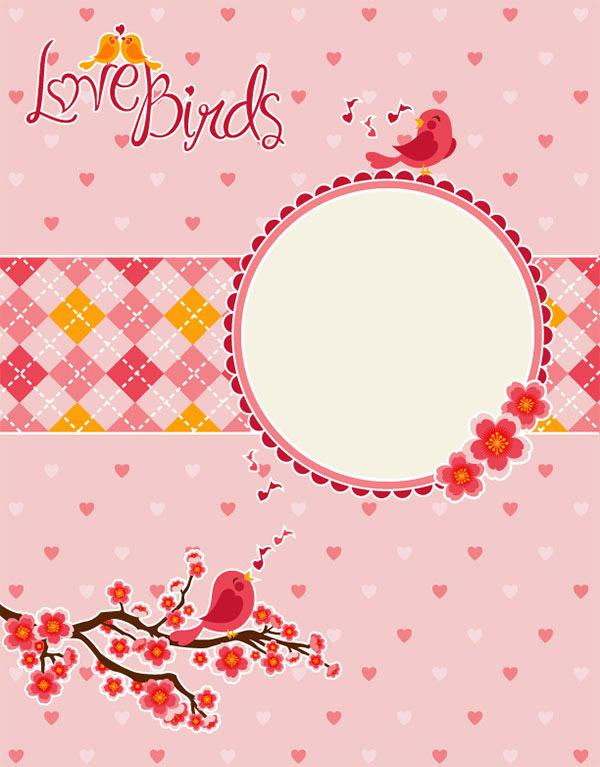 情人节爱情鸟