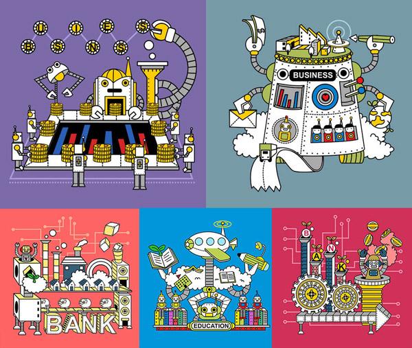 卡通机器化作业5