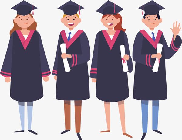 毕业季学生集体合照
