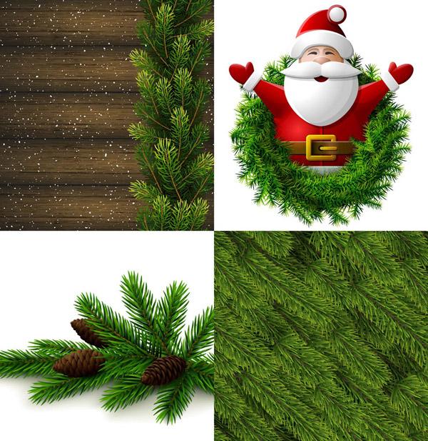 树枝与圣诞老人