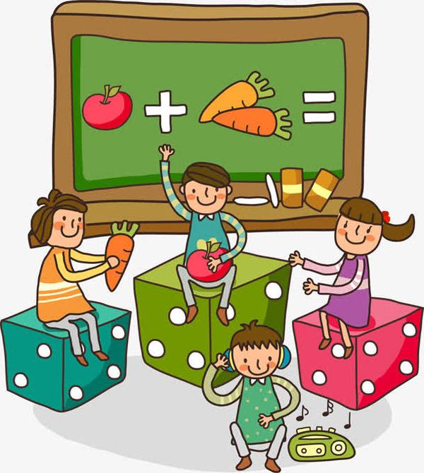 儿童培训班素材