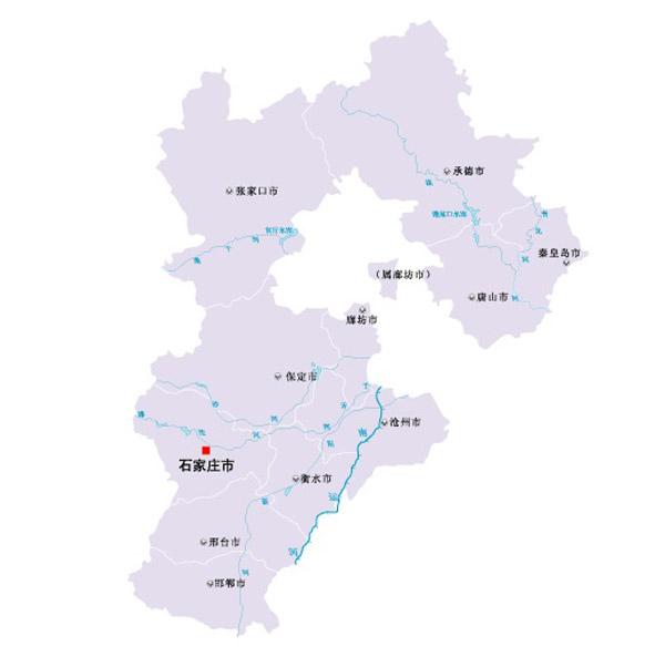 河北省矢量地图
