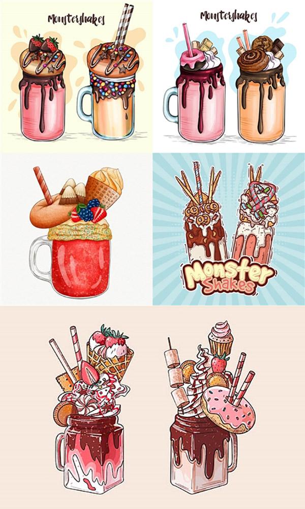 冰淇淋插画