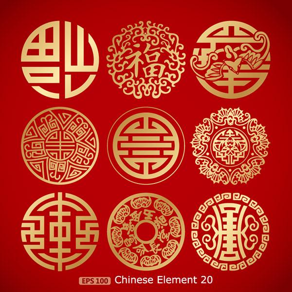 中国传统图案花纹