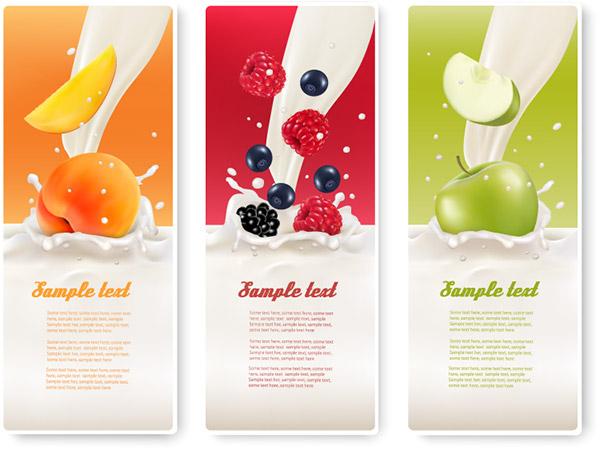 水果牛奶banner