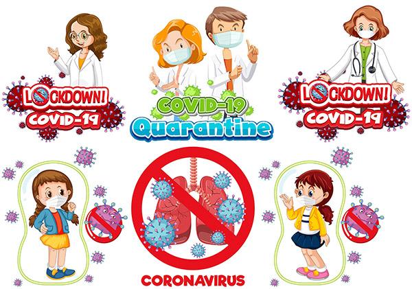 防疫医生与儿童