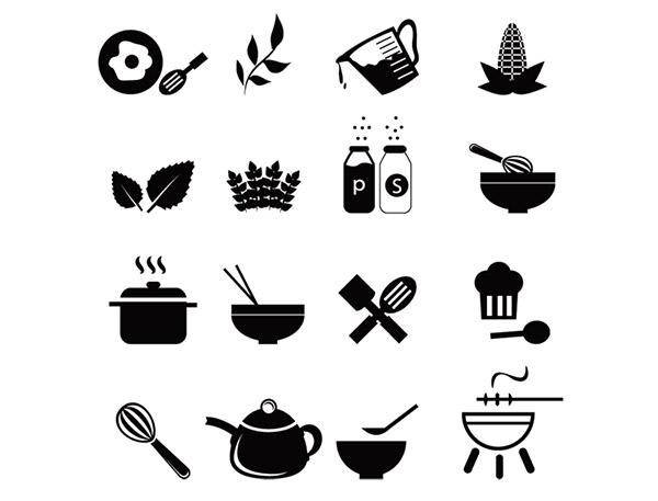厨房工具图标