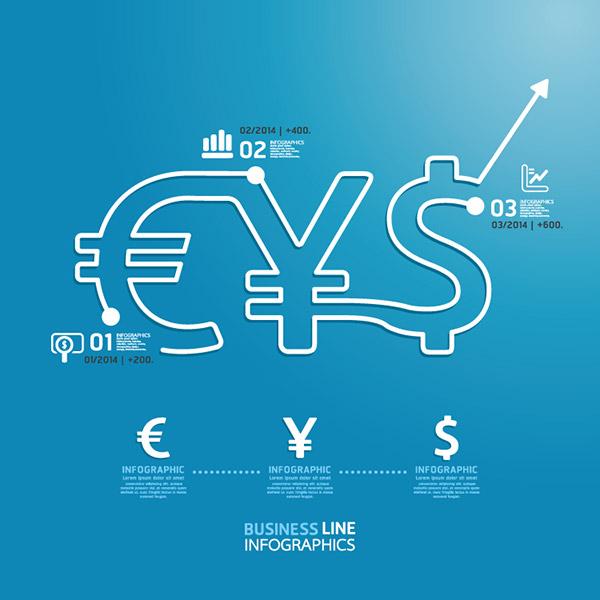 货币金融主题信息图