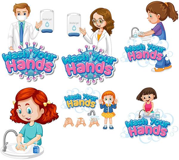勤洗手阻断疫情传播
