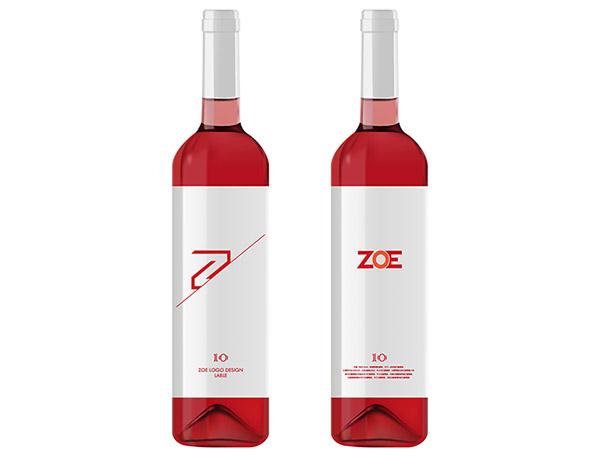 葡萄酒瓶矢量