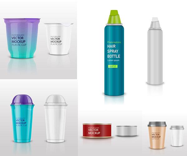 多种产品的包装效果