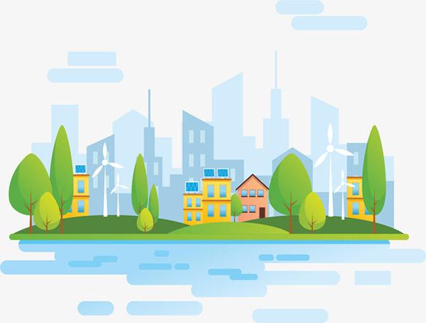 自然能源生态城市