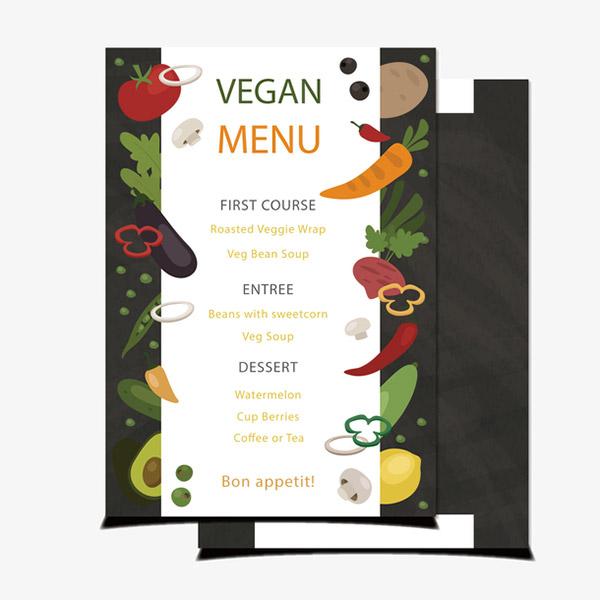 矢量蔬果价目单