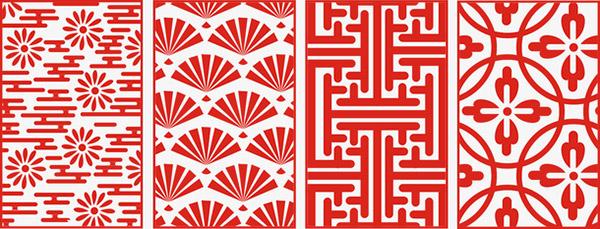 中国风传统花纹