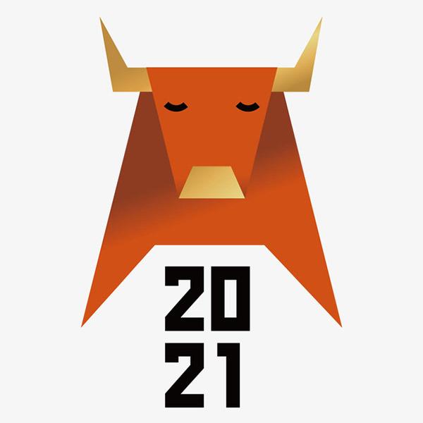 2021牛年春节元素