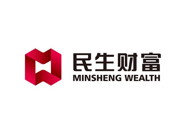 民生财富logo标志