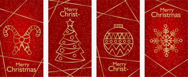 圣诞祝福卡片贺卡