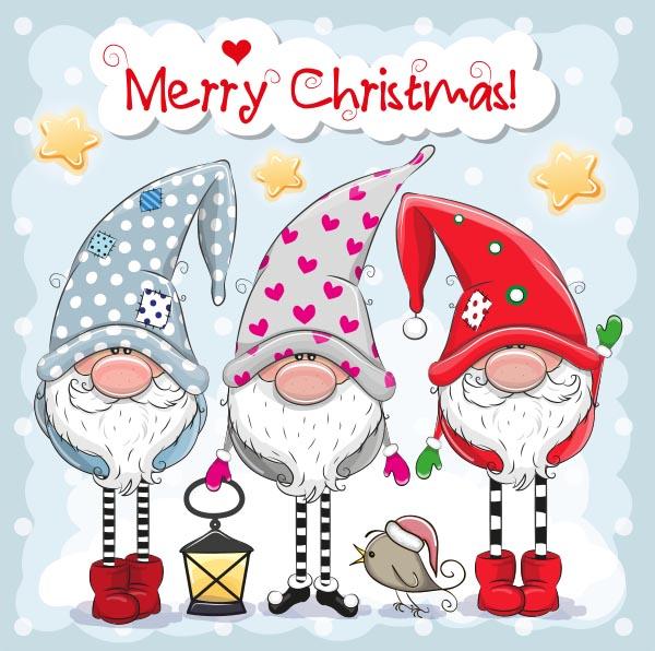 圣诞老人卡通插画
