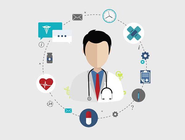 保健医疗概念插图