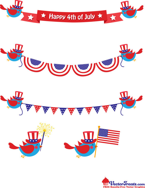 party in the usa clip art