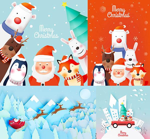 圣诞老人与他的朋友