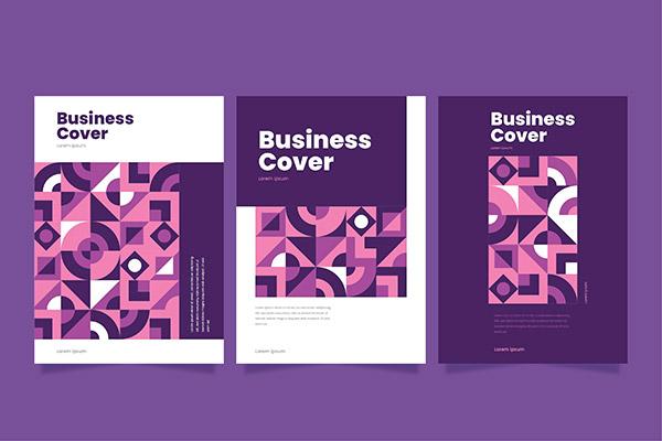 抽象几何商业封面