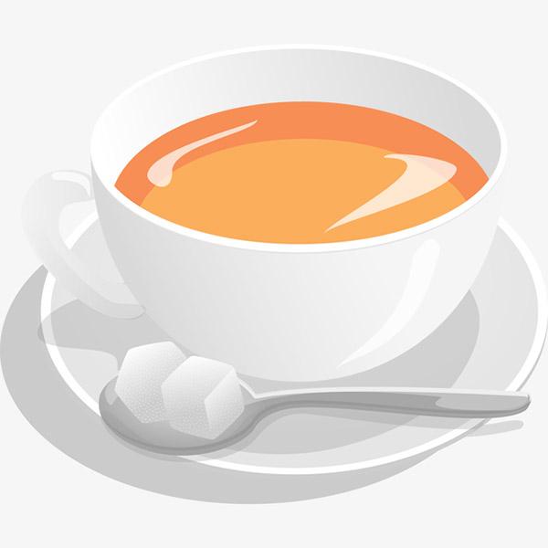 手绘插画咖啡