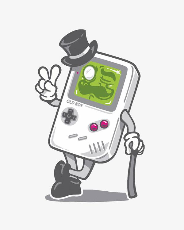 老式游戏机绅士