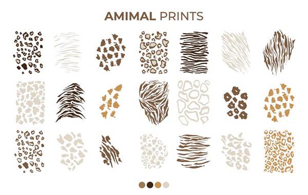 动物毛皮图案