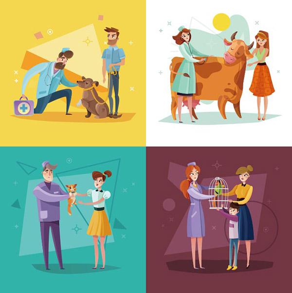 兽医治疗和预防