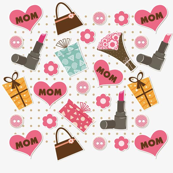 母亲节庆祝背景