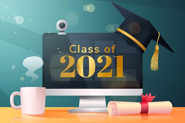 2021毕业季矢量