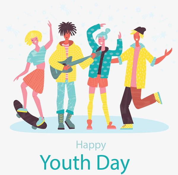 青年节派对年轻人