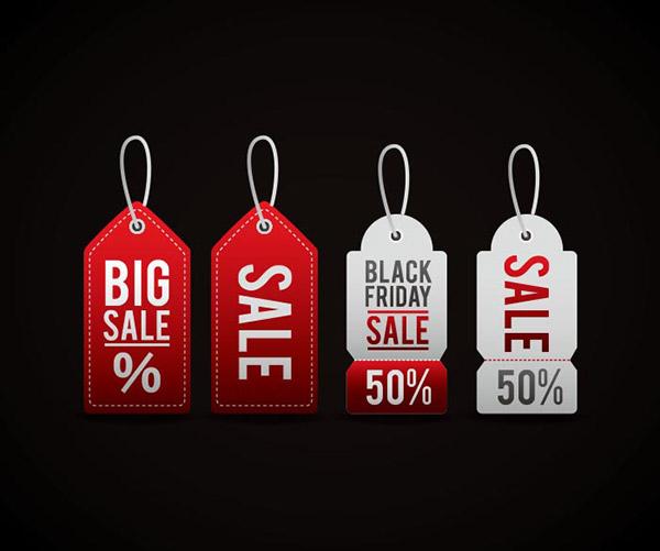 黑色星期五价格标签