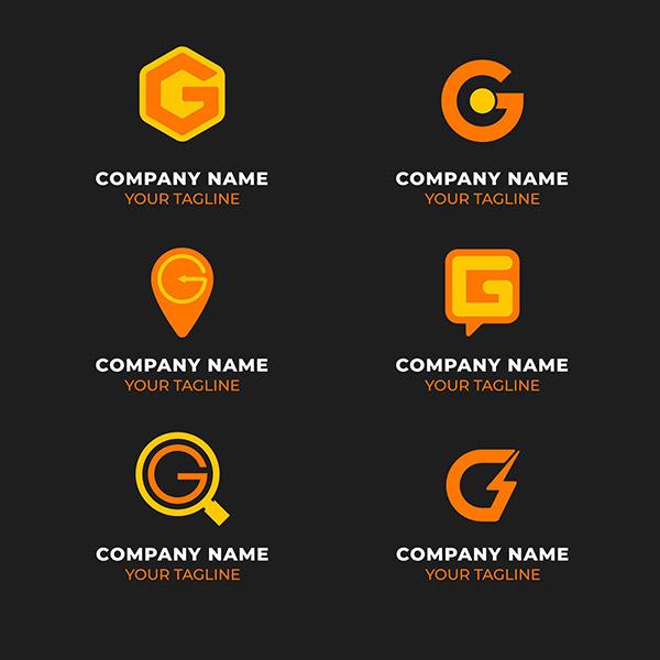 创意字母标志矢量