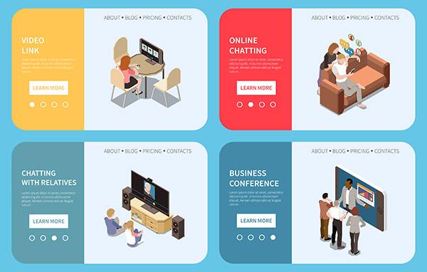 网络视频会议插图