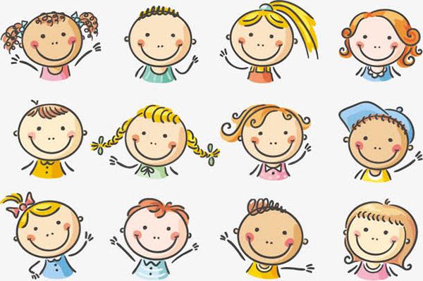可爱的卡通儿童设计