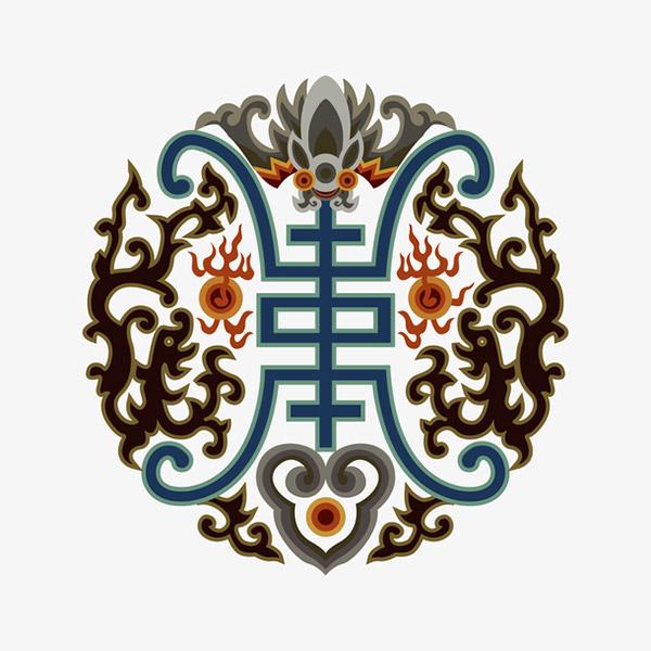 中国传统福寿纹