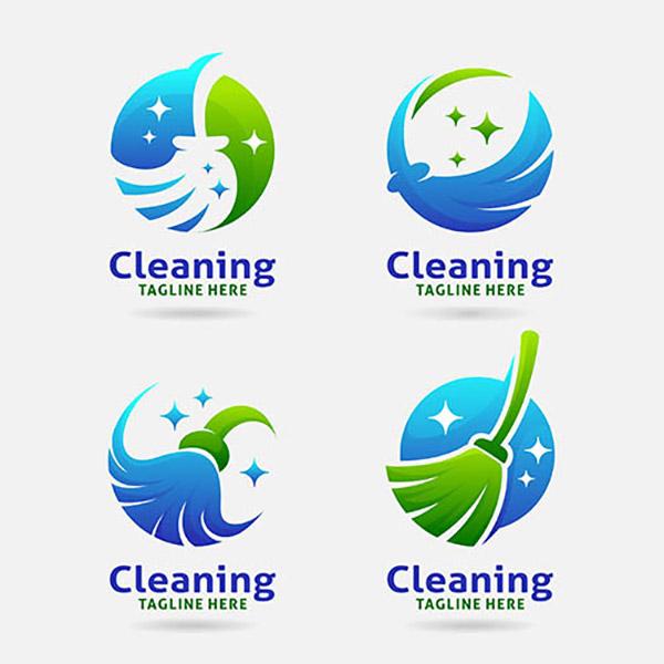 清洁主题标志