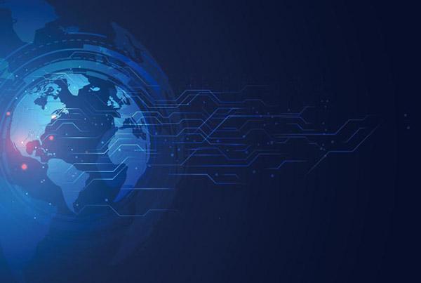数字全球技术横幅