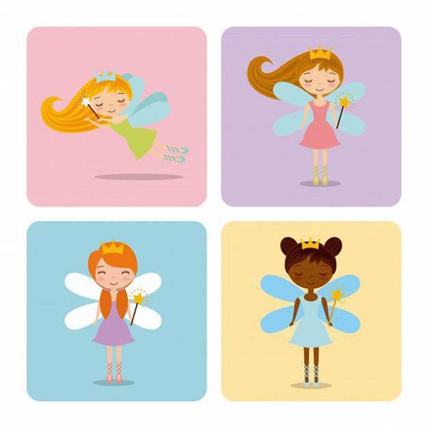 可爱卡通小仙女