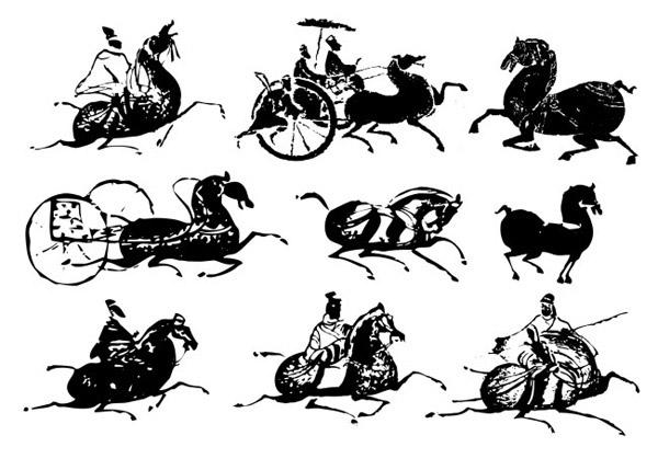 古代,古典马,古代马,马年