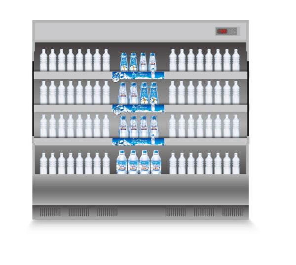 素材分类: 矢量电器所需点数: 0 点 关键词: 超市冰柜矢量图,超市
