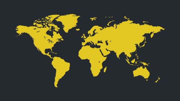 素材 矢量/世界地图矢量...